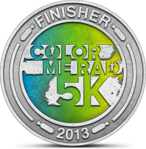 my 5K badge :)