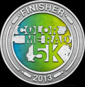 my 5K badge :)