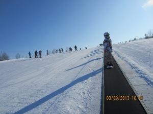 snowboarding 2013 - bunny hill 007