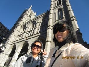 Montreal-NotreDame-selfie